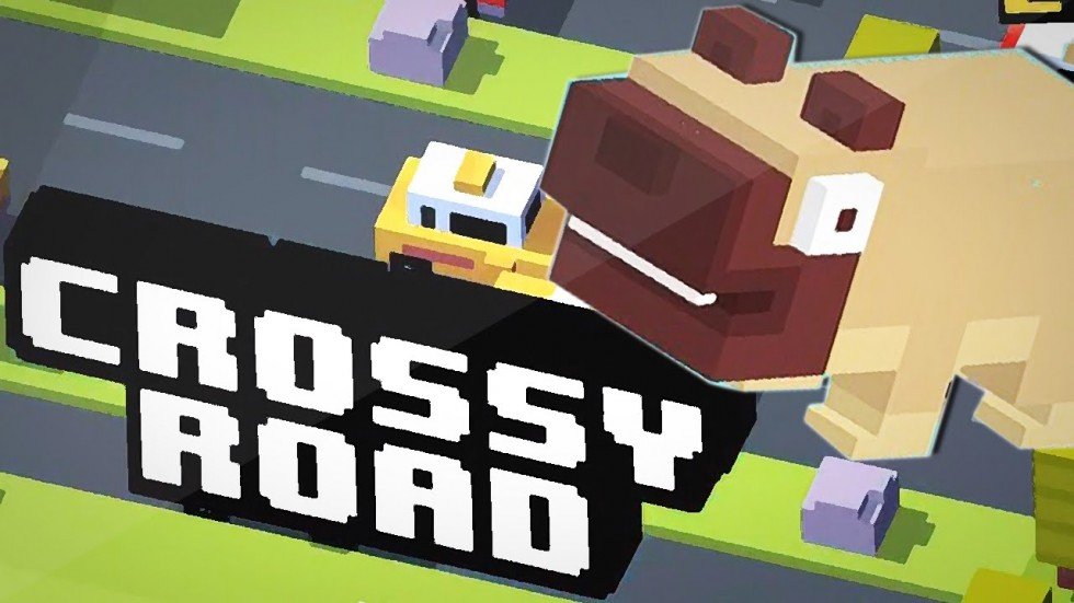 смотреть игру Crossy Road