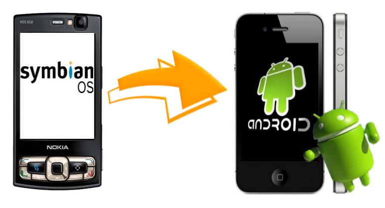 Как перенести контакты с Symbian на Android