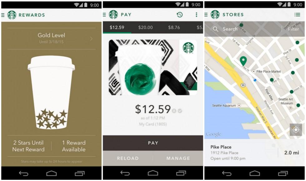 Starbucks Android
