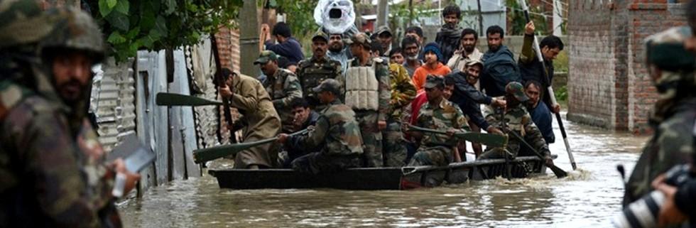 Индия наводнение