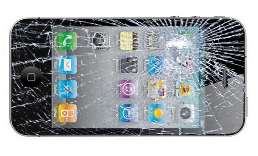 Разбитый Iphone 4