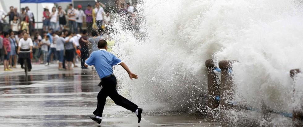 шторм в провинции Гуандун