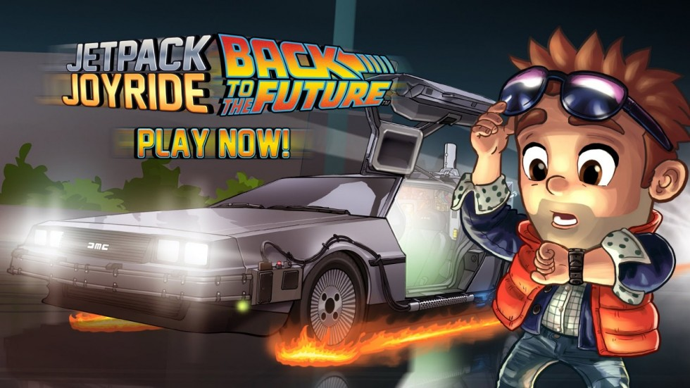 Jetpack-Joyride Back to the Future