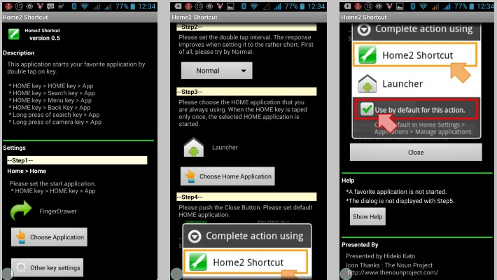 Android - переназначение кнопок