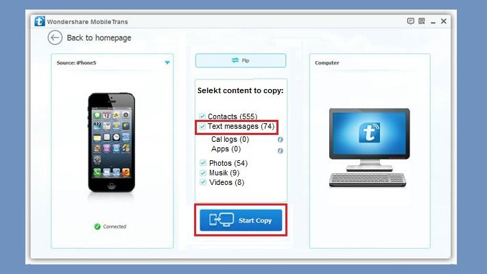 как перенести смс с айфона на андроид и обратно