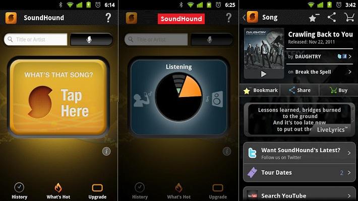 Скачать программу для андроид для определения музыки