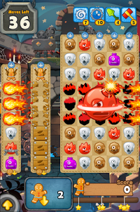 MonsterBusters: Match 3 Puzzle