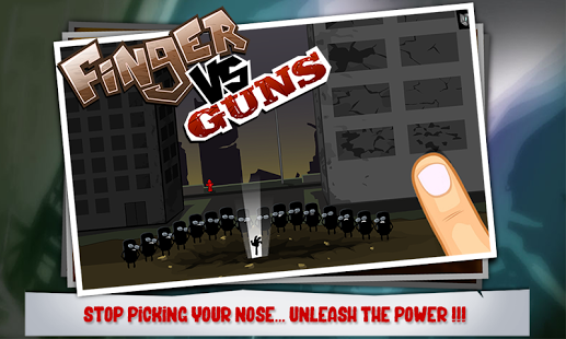 Finger Vs Guns