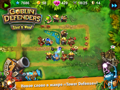 Goblin Defenders: SteelnWood