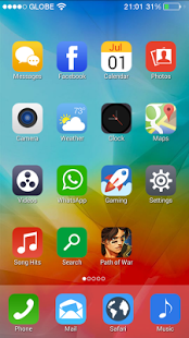 iPhone 6 Launcher Viva Theme