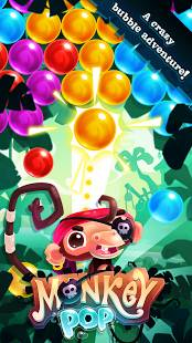 Monkey Pop - Bubble game