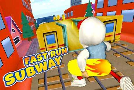 3D Train Castle Kids Surf Run