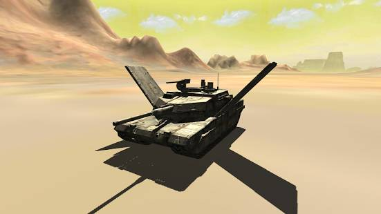 Flying Battle Tank Simulator