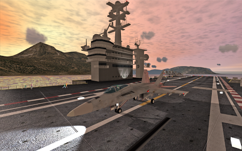 F18 Carrier Landing II