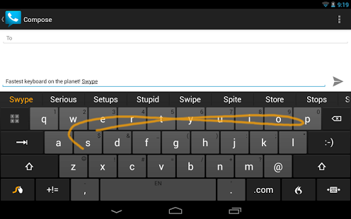 Swype Keyboard Trial
